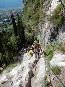 Klettersteig Arco 007